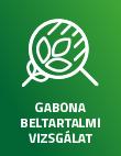 GABONA BELTARTALMI VIZSGÁLAT