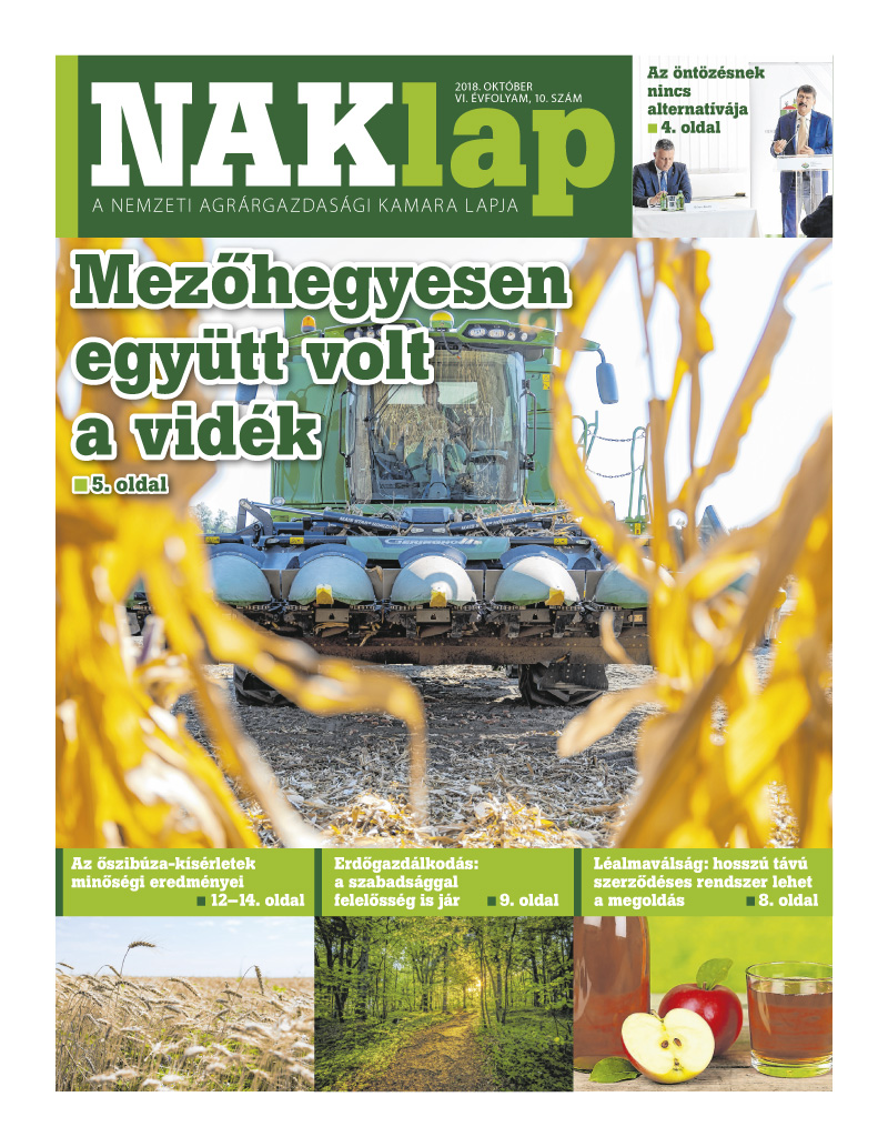 NAKlap 2018. október VI. évf. 10